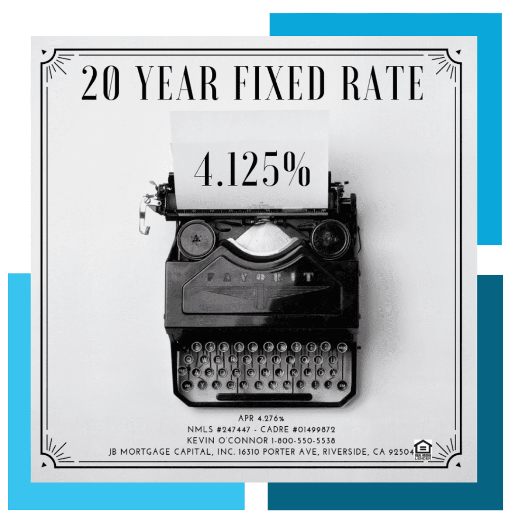 20 year fixed mortgage rate