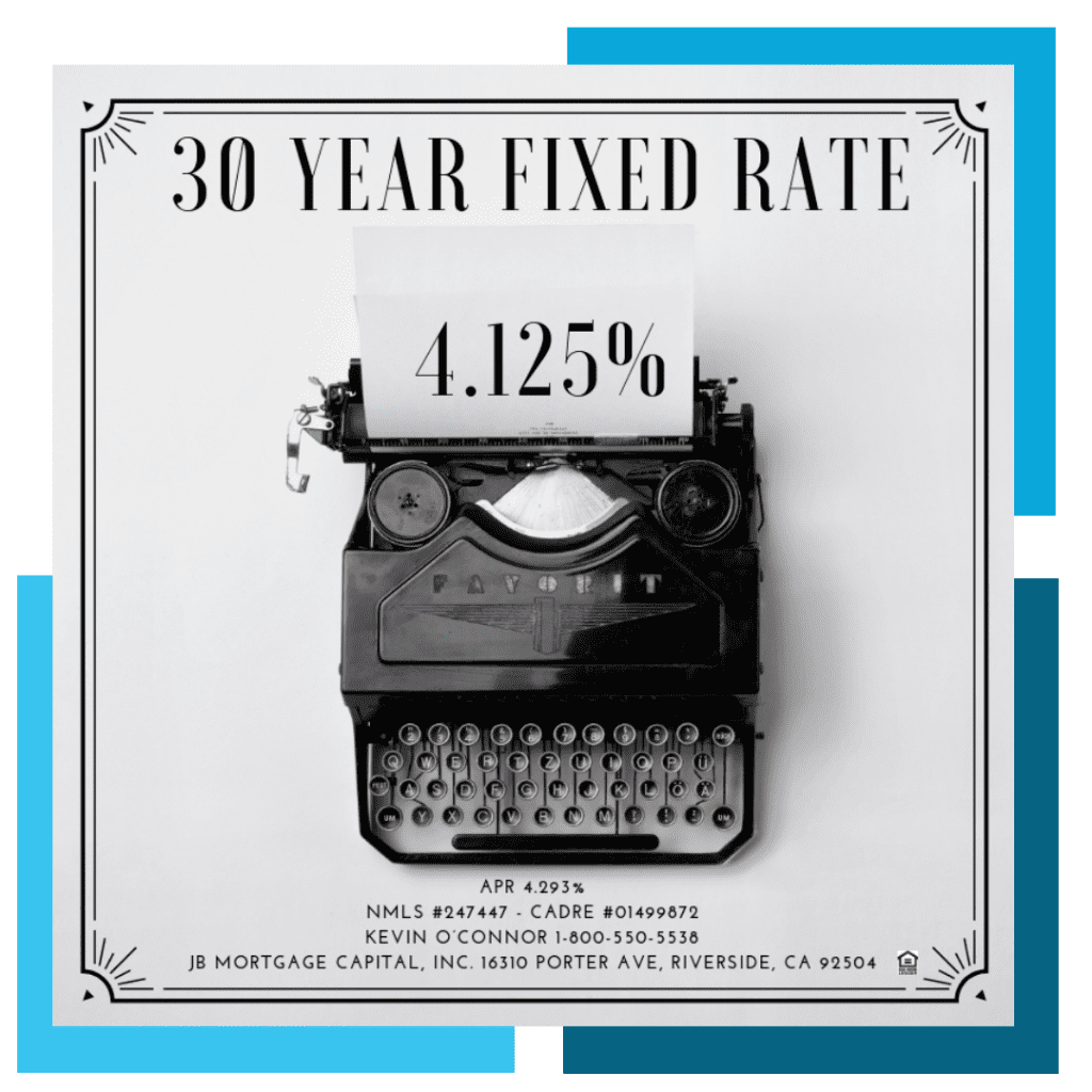 30 Year Fixed Rate