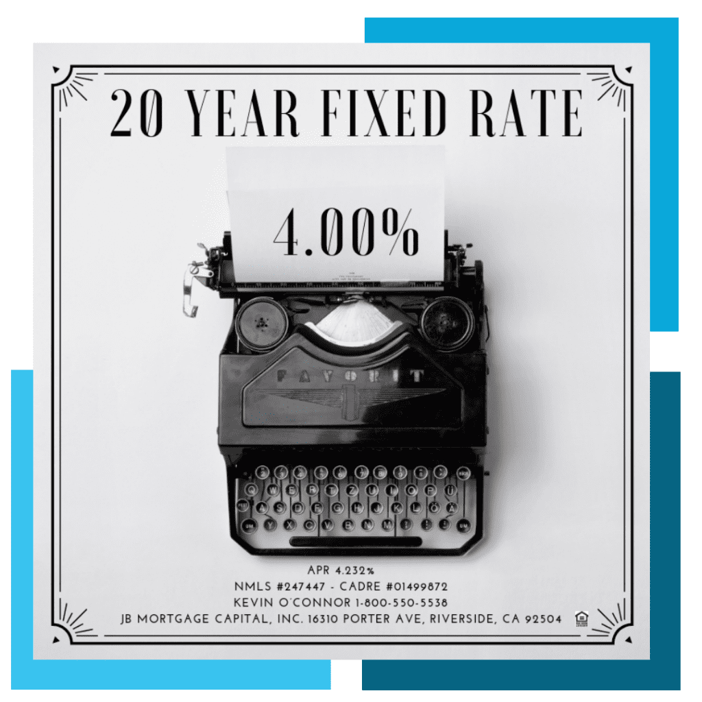 20 Year Fixed Rate