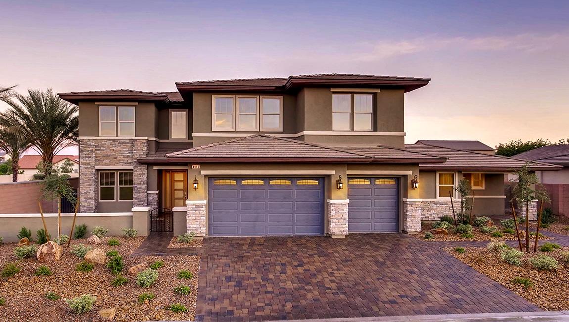 Brown Modern Home