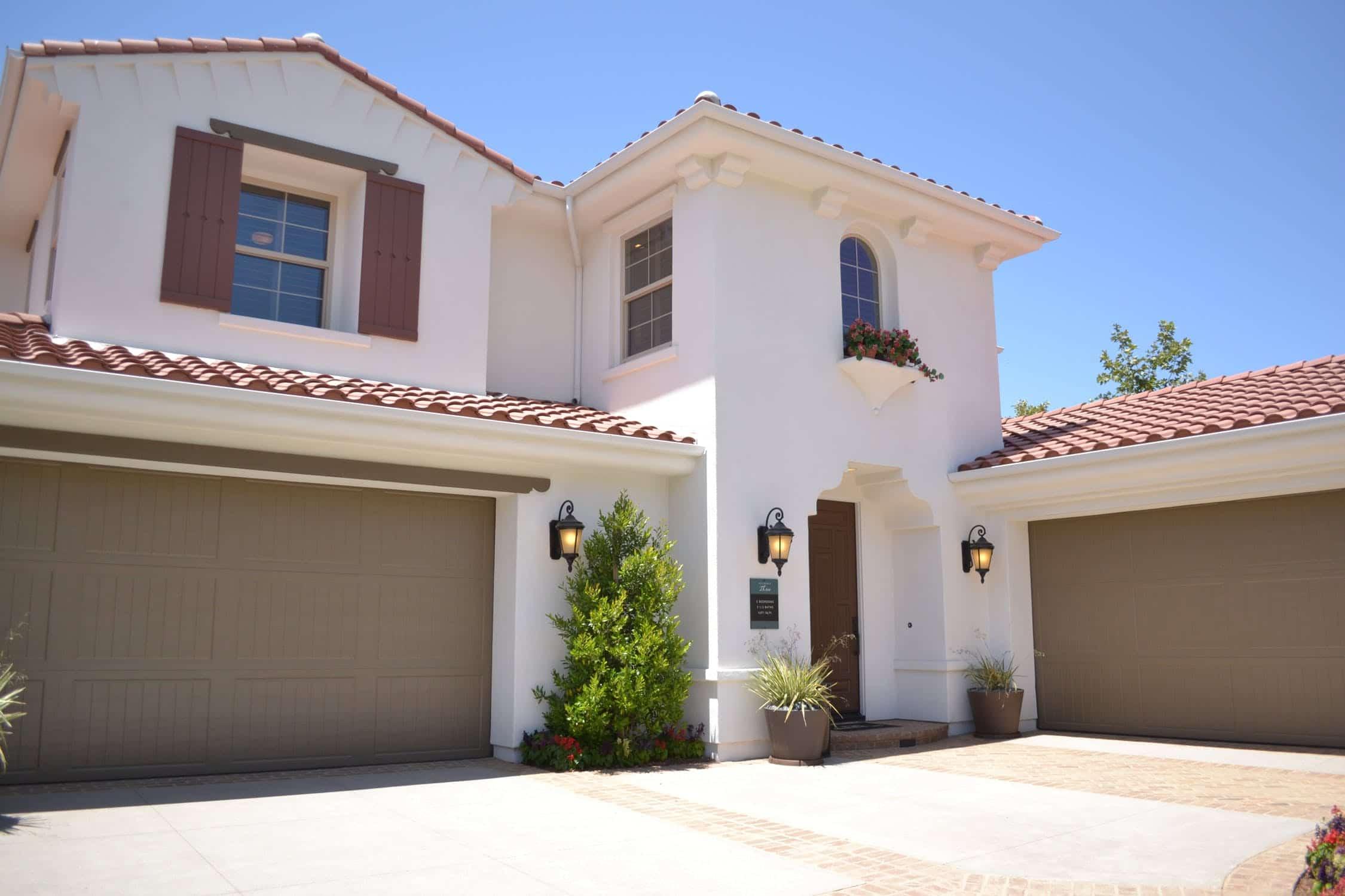 Spanish home in California