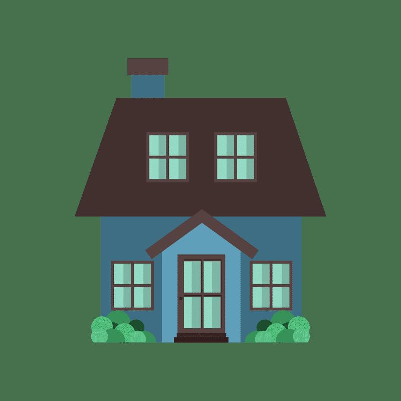 Dark Blue Home