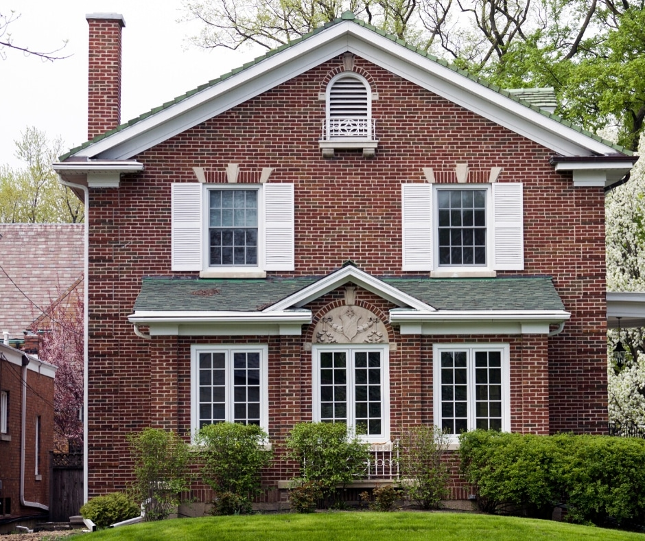 Buying a brick home