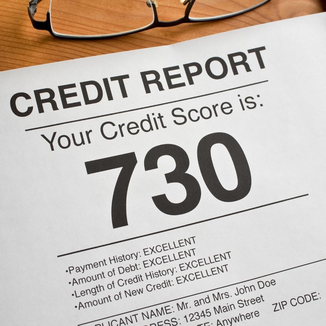 730 credit score