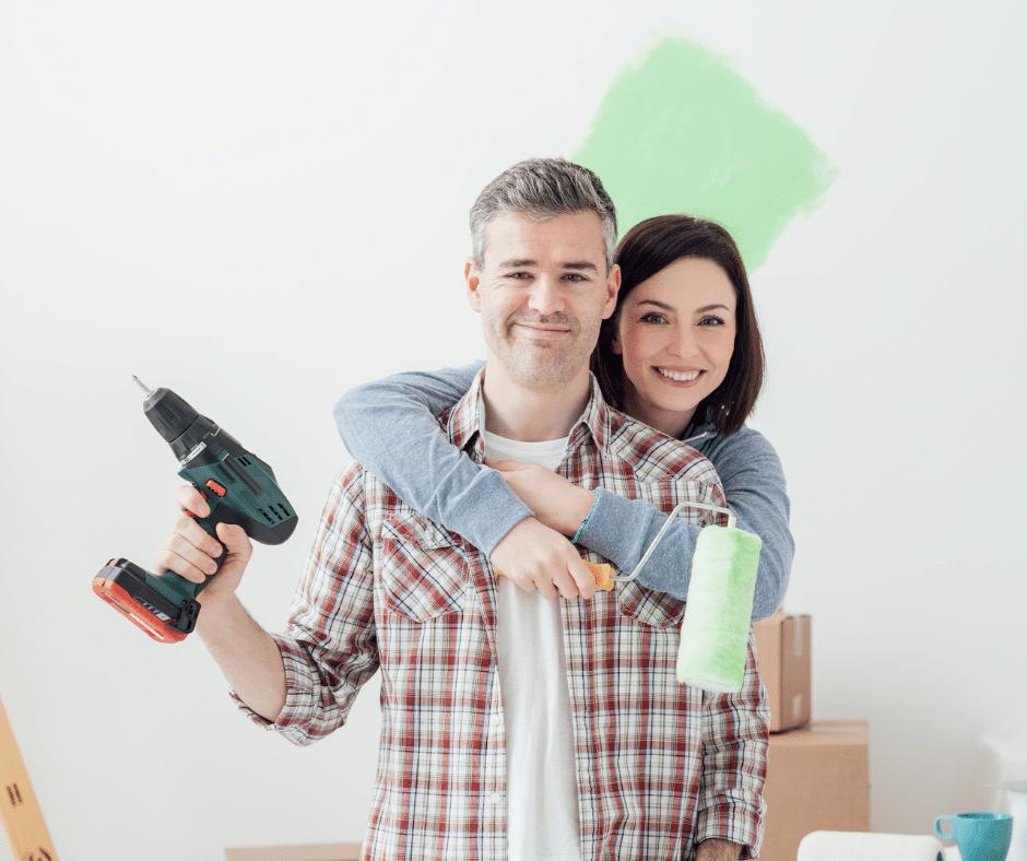 A couple that refinanced